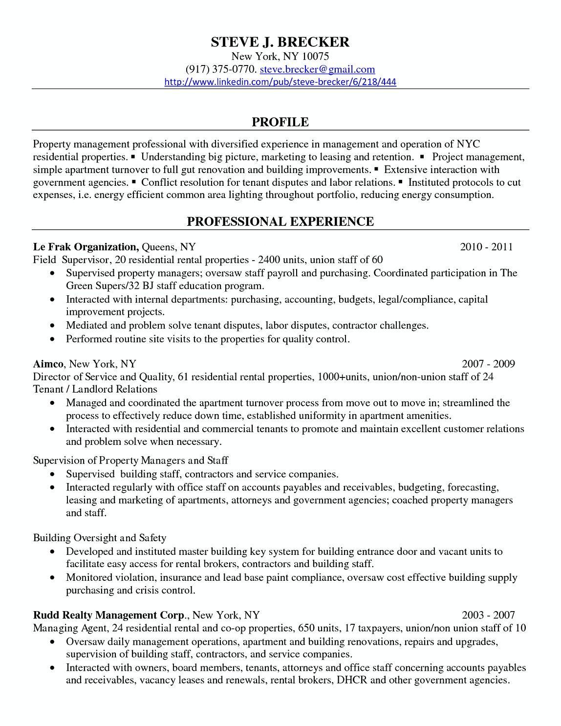 Property Manager Professional Resume Samples Commercial Property Manager Resume Interested In Working Manager Resume Job Resume Examples Job Resume Samples