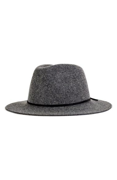 c8a47ea1 Brixton 'Wesley' Wool Fedora at Nordstrom.com. A wide, flat brim rounds a  timelessly cool wool fedora with a slim ribbon wrapping the base of the  crown.