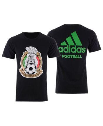 f8198686a adidas Men s Mexico National Team Crest Sponsor T-Shirt - Black XXL