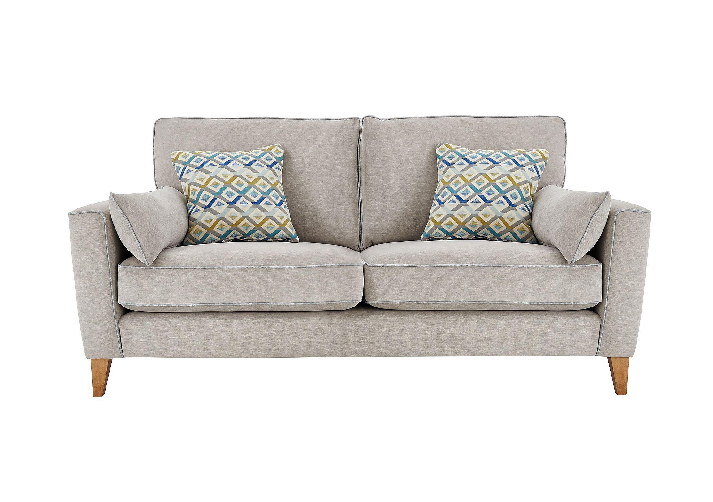 Copenhagen 3 Seater Fabric Sofa