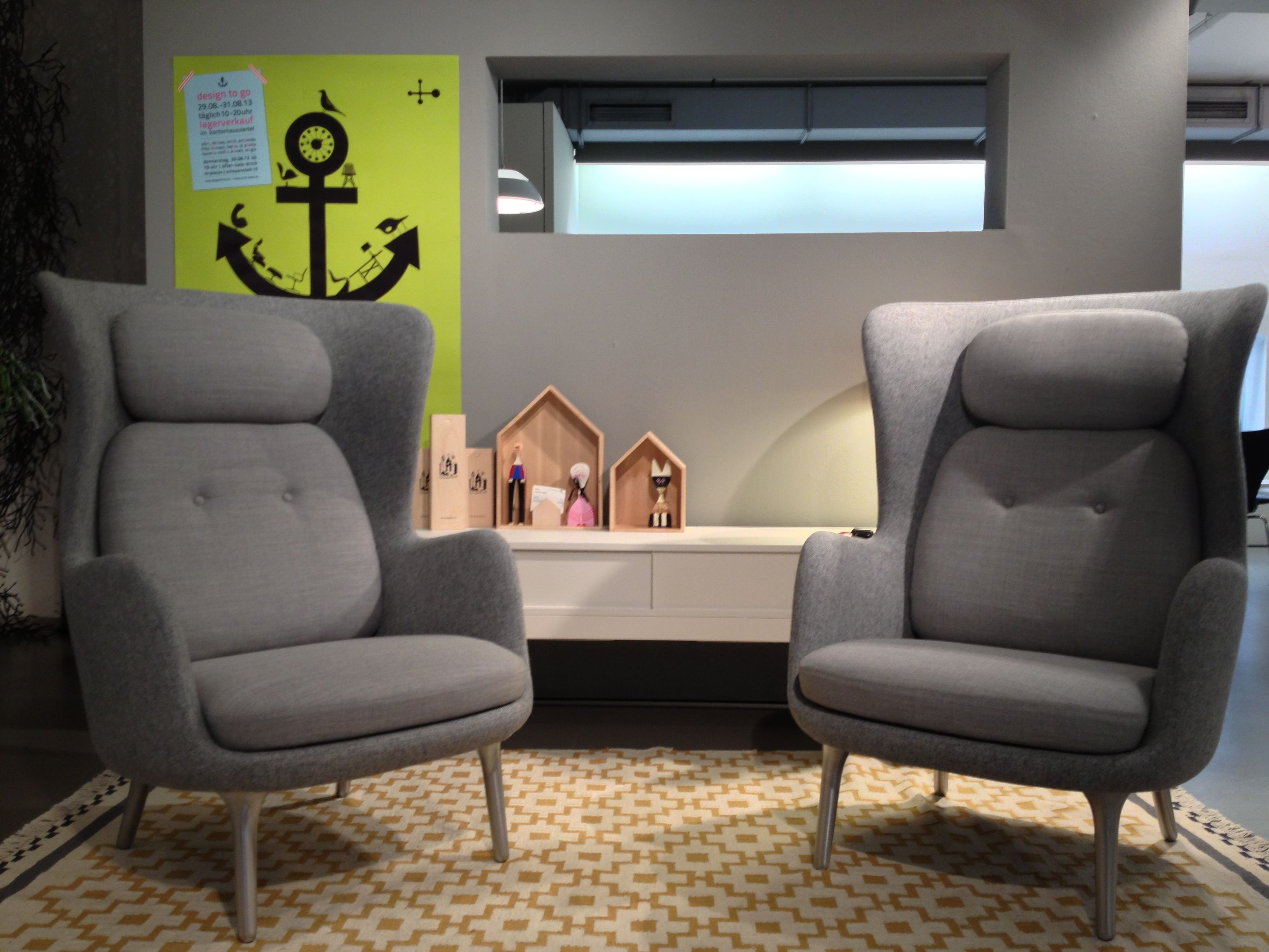 fritz hansen ro sessel showroom stilwerk hamburg fischmarkt pinterest fritz hansen. Black Bedroom Furniture Sets. Home Design Ideas