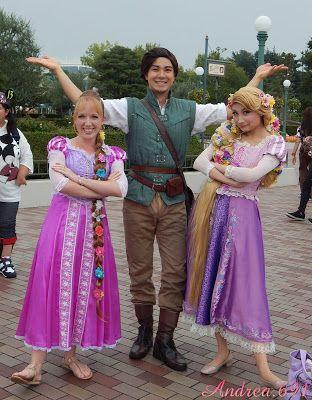 Bunte Haare » I Love My New Rapunzel Dress Pictures At Tokyo Disneyland