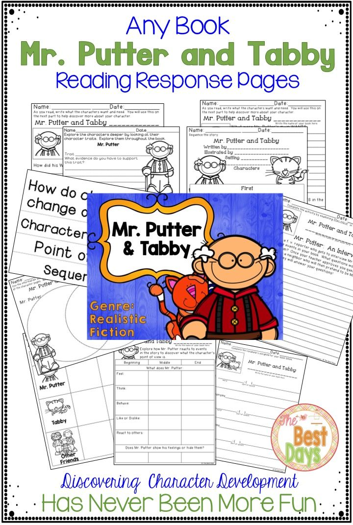 Do Your Kids Love Mr Putter And Tabby I Bet They Do And These Mr Putter And Tabby Activities Are Just What You Fun Education Literacy Homeschool Programs