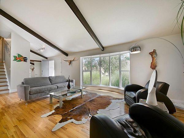 Artistic Tri Level Residence In Denver Living Room Decor On A Budget Home Modern Living Room