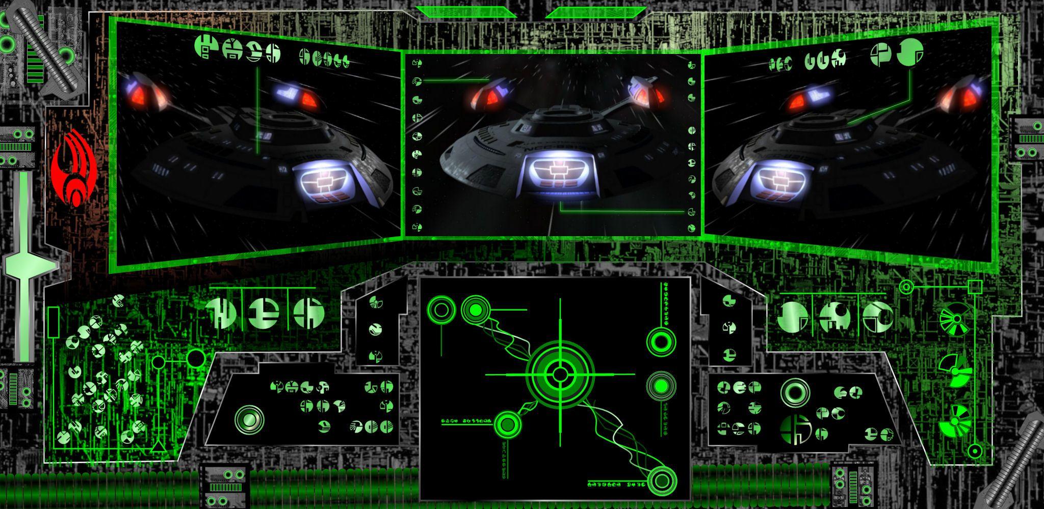 Borg Sci Fi Live Wallpaper