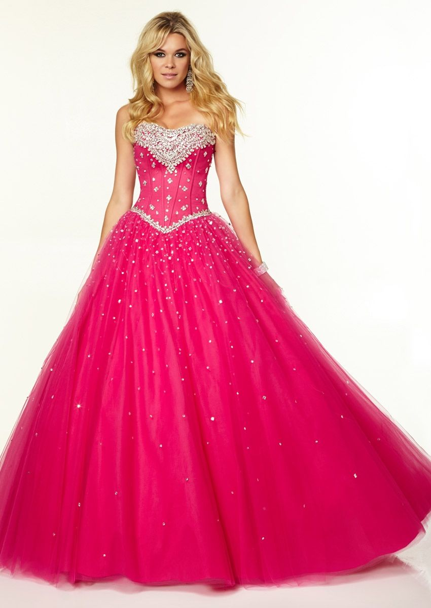 hot pink wedding dress | Jessica & Daniel\'s Wedding | Pinterest ...