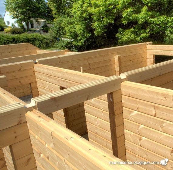 Maison bois  RDC Build It!! Pinterest