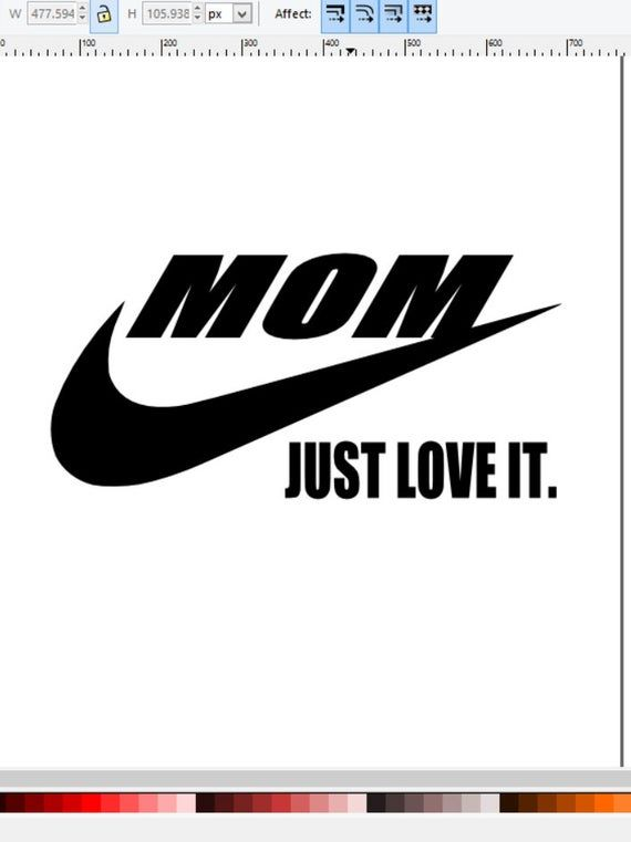 Download Mom just love it nike just do it swoosh svg | Etsy in 2020 ...