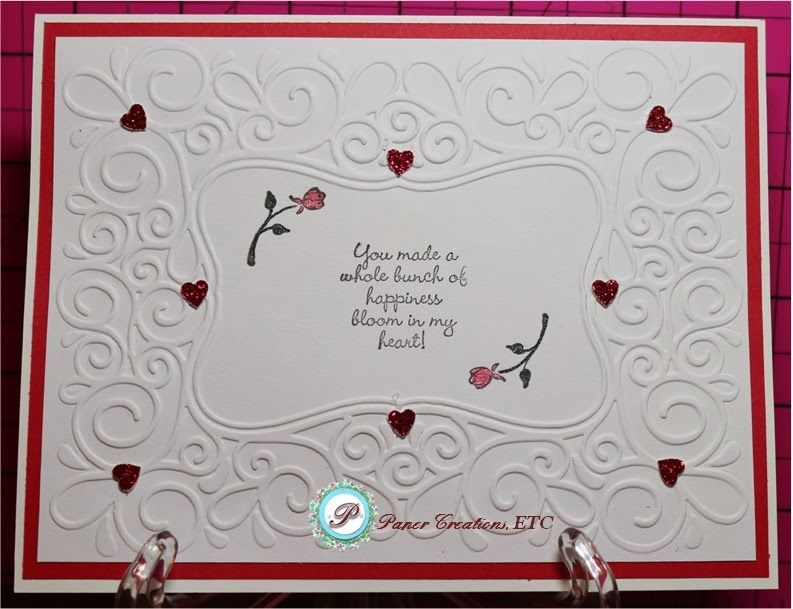 Paper Creations, ETC: 'Valentine's and More' Card