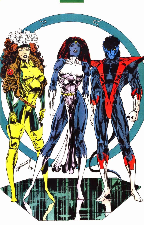 The Dork Review X Men Pinup Image Blitz Marvel Superheroes Marvel Comics Art Marvel Girls