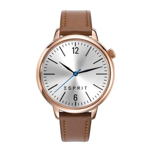 Esprit damenuhren lederarmband  Schlichte Esprit Uhr mit Lederarmband rosé ES906562001 http://www ...