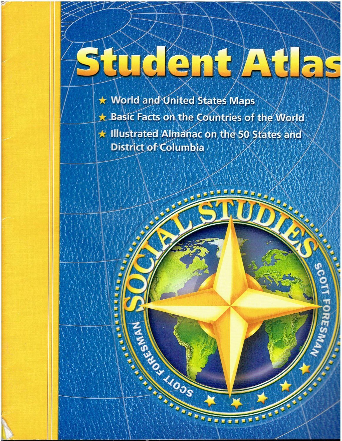 Scott Foresman Social Studies Student Atlas book isbn 0328041068 SS2