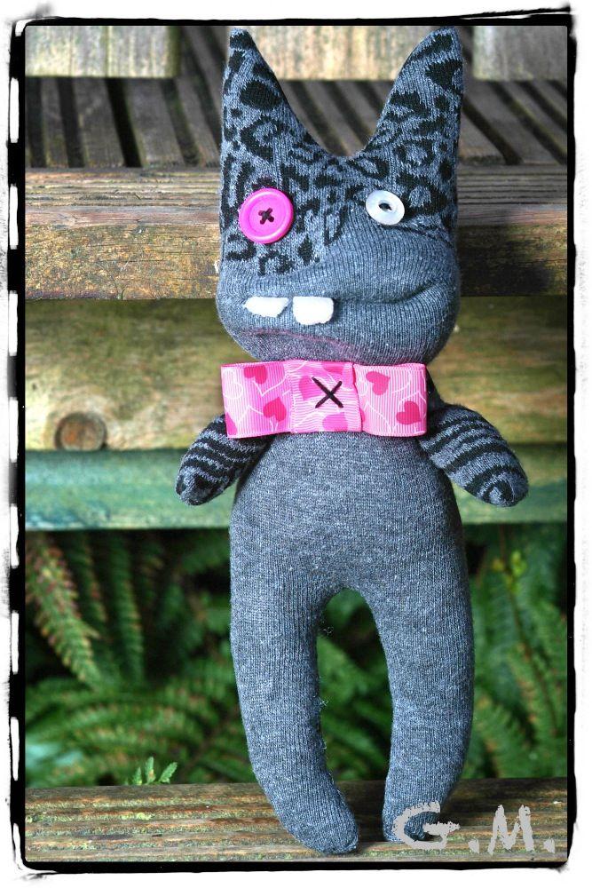 Handmade Sock Monster, Children toy