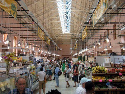 Eastern Market Farmer's Market in D.C.