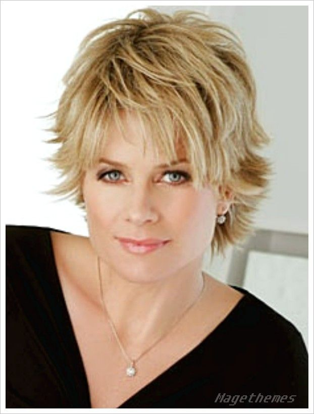 Over 50 Short Hairstyles Round Faces Best Short Hair Styles