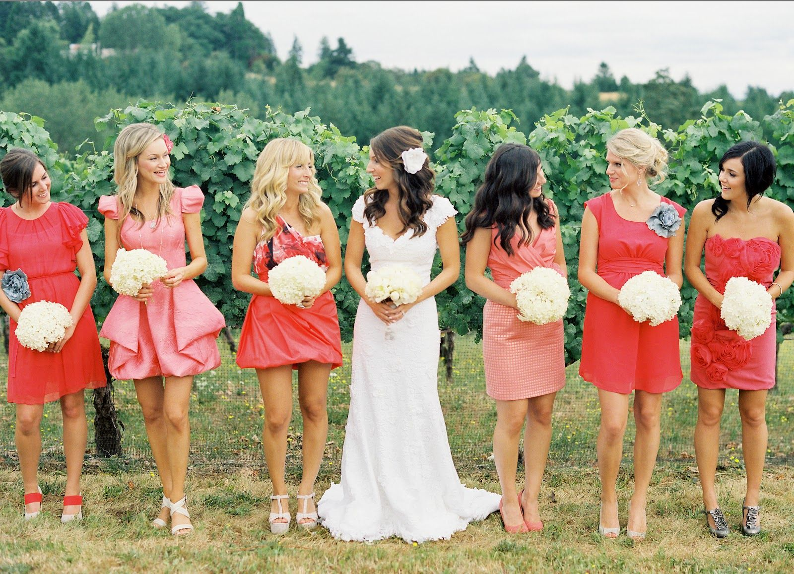 Wedding dress bridesmaids pinterest wedding wedding and