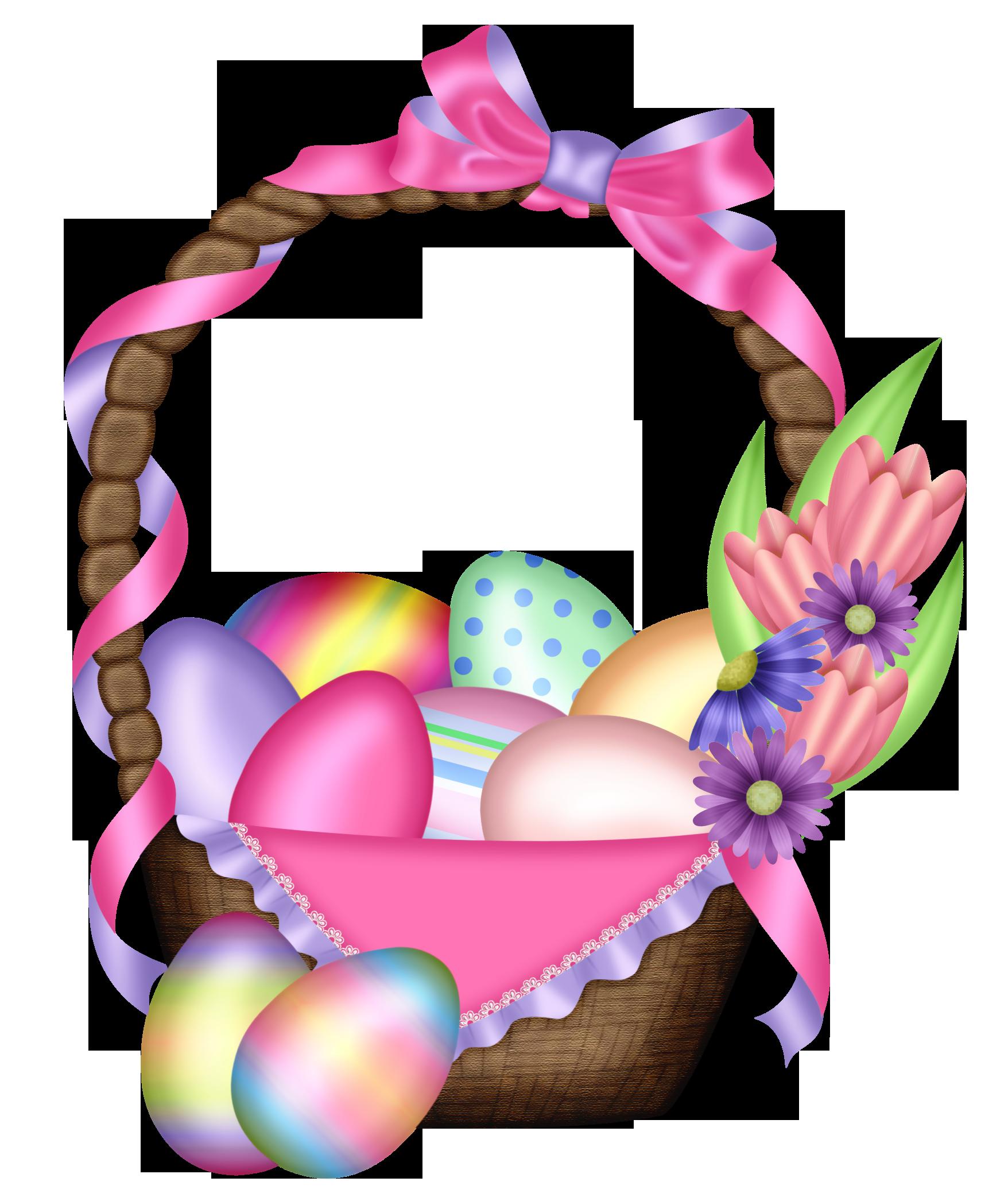 Easter Colorful Basket Transparent Png Clipart Happy Easter Pictures Happy Easter Pictures Inspiration Easter Clipart