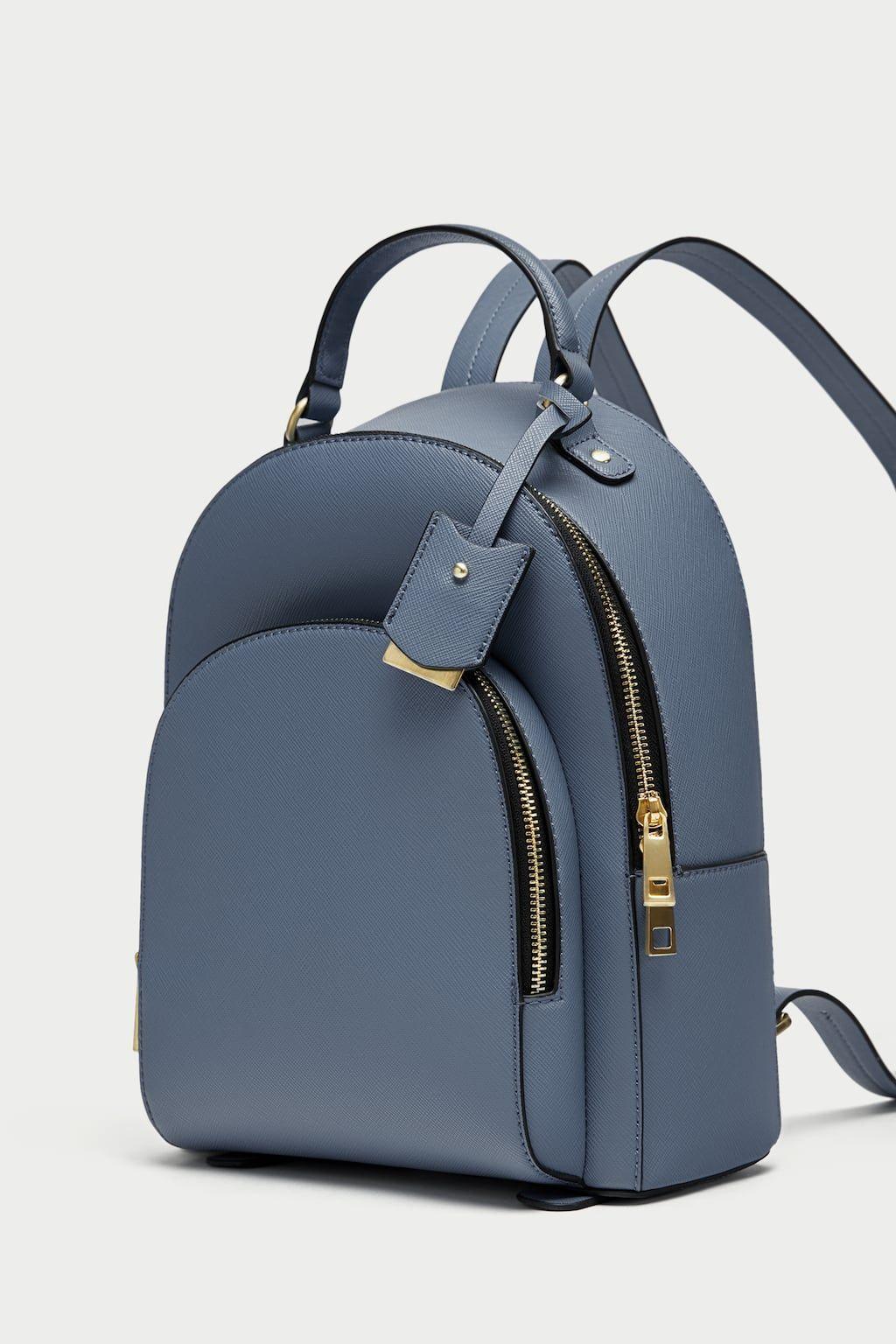 Image 4 Of Backpack With Zippers From Zara Madchen Taschen Rucksack Damen Designer Taschen