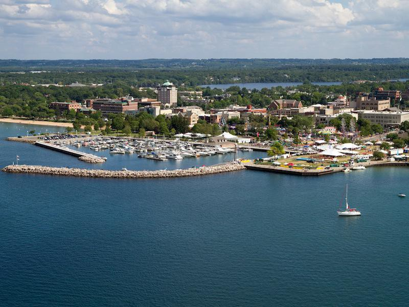 Every U S State S Best Small Town In 2020 With Images Traverse City Michigan Traverse City Summer Destinations
