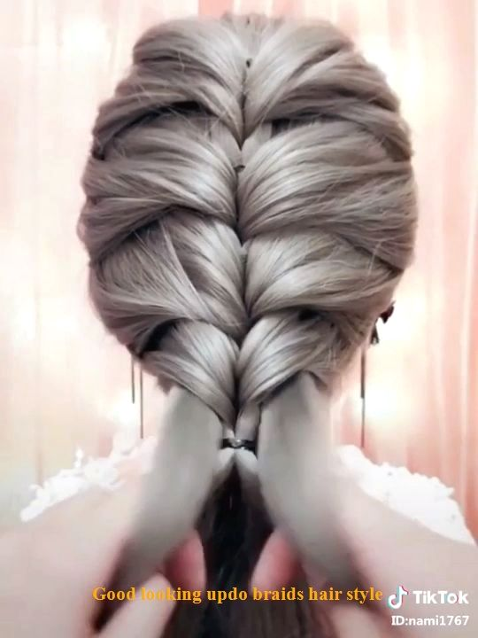 Open Braided Hairstyle Open Braided Hairstyle. Hairstyle open braided. Fr