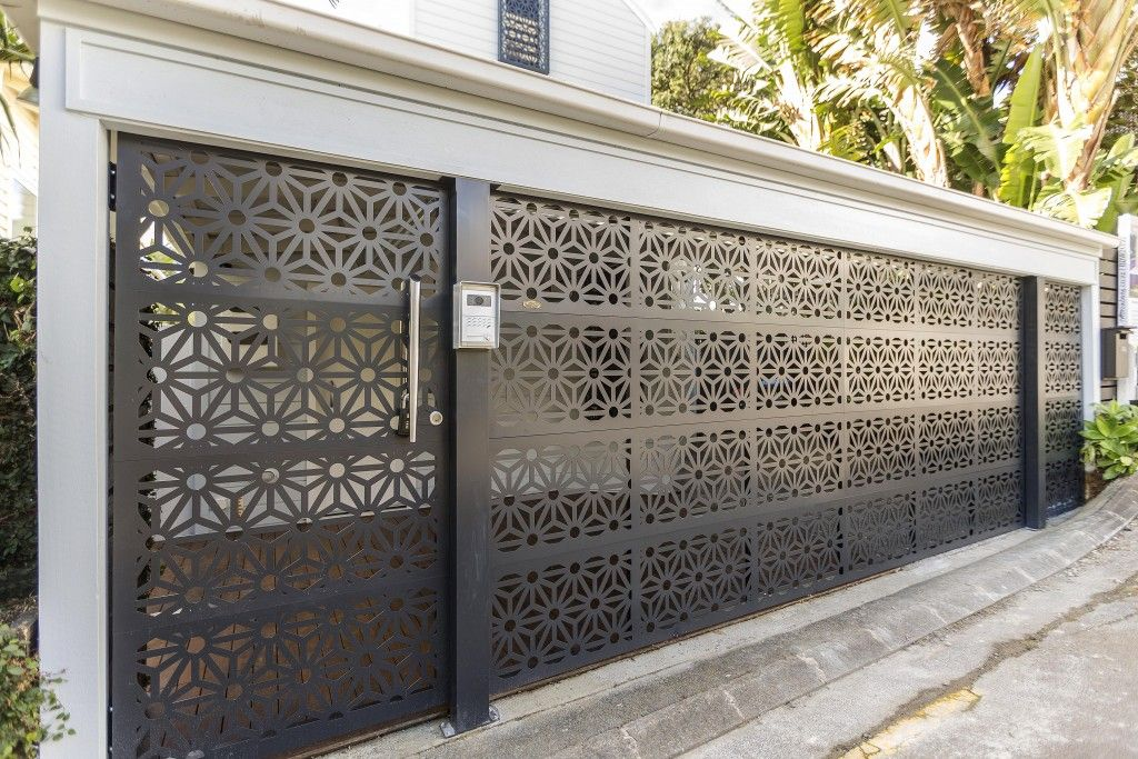 First Impressions Prestige Doors And Gates On Aluminium Garage Door Design Garage Door Design Garage Doors Front Gate Design