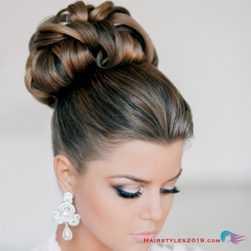 Top 20 Long Wedding Hairstyles And Updos For 2018: Long Updo Hairstyles For Wedding Hair