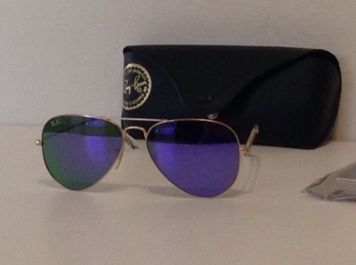 RAY BAN RB3025112/68F 58-14-140 MATT GOLD/PURPLE  58MM  AVIATOR SUNGLASSES https://t.co/19ZZd44G32 https://t.co/ta3NZcxKCa