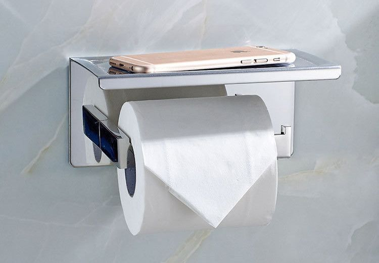 Bathroom Single Tissue Holder Toilet Paper Holder Tissue Roll