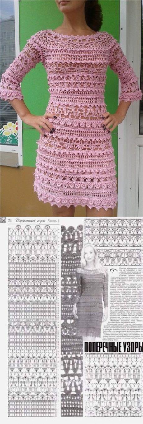 Dress about Vanessa Montoro \\/ Live ice   Häkelkleidung   Pinterest ...