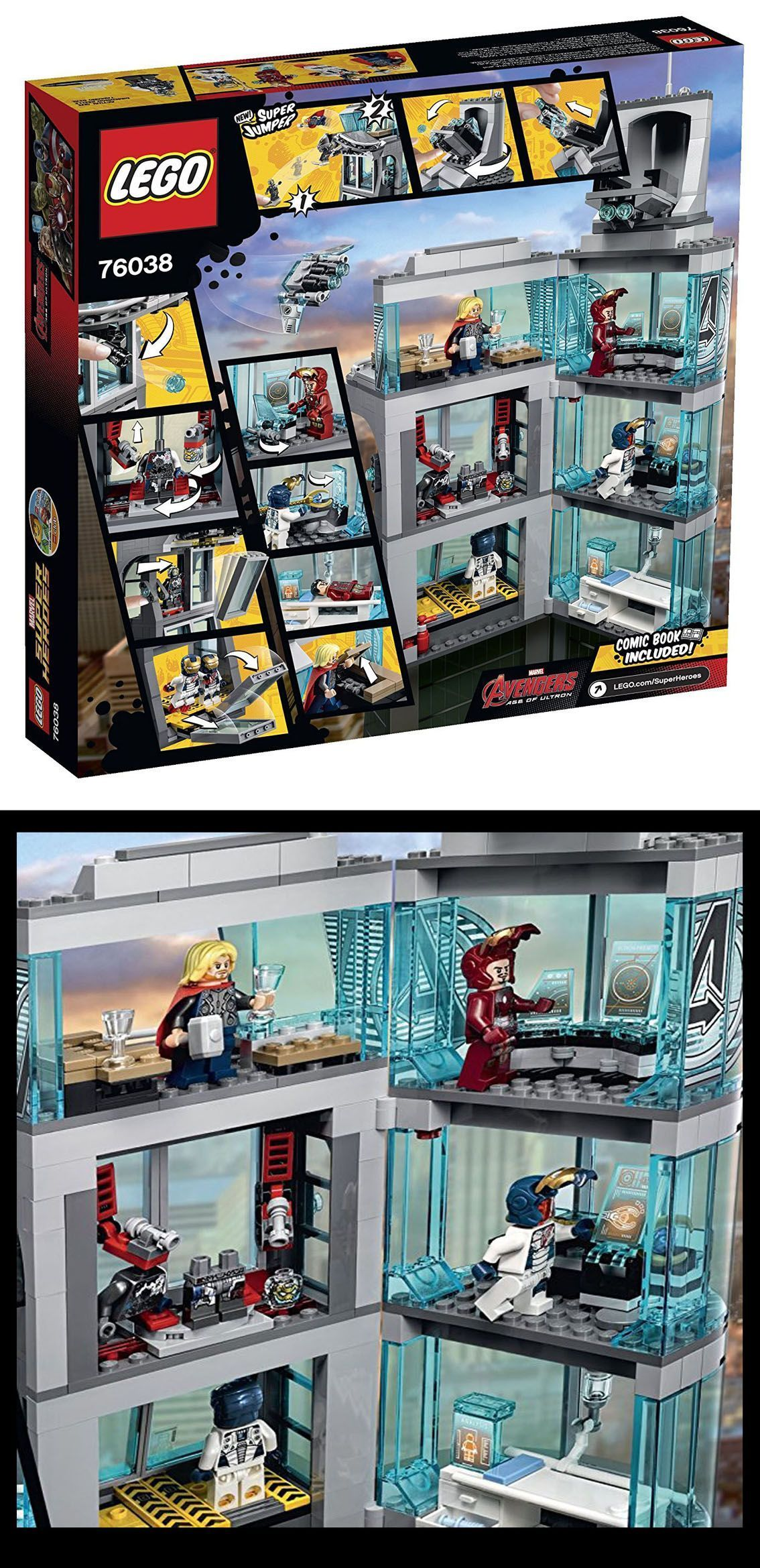LEGO Avengers Super Heroes Attack on Tower 119.70 on
