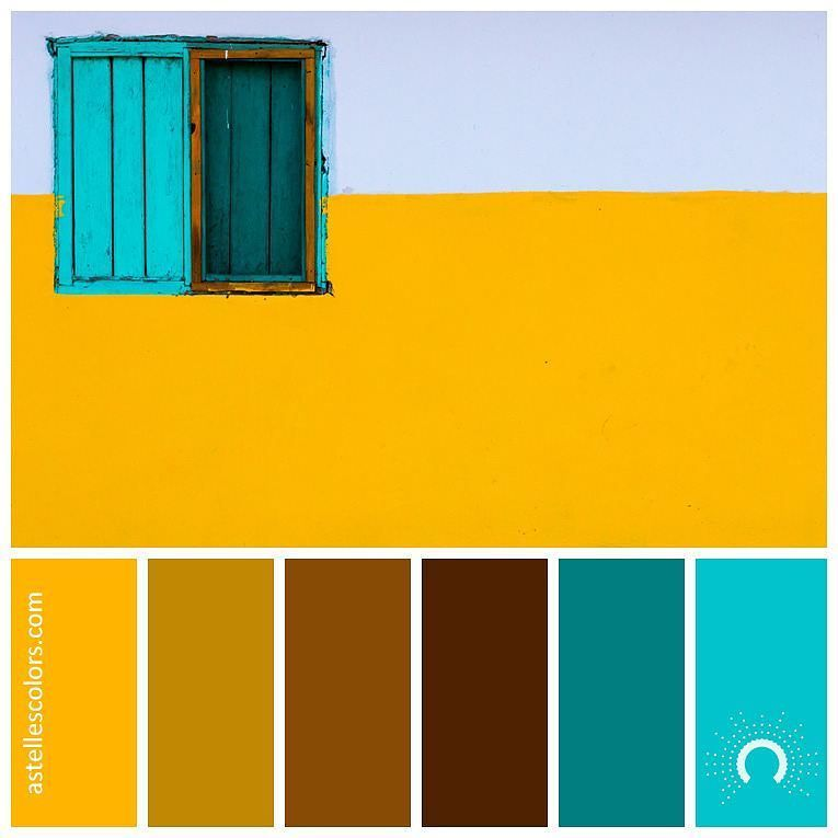 Color Inspiration Yellow Wall Gareth Harper Gazzardinho Thank You For Sharing This Colourful Color Palette Yellow Yellow Color Combinations Yellow Walls