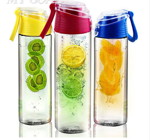 Fresh Fruit Infusing Water Bottle Sports Fruit infused