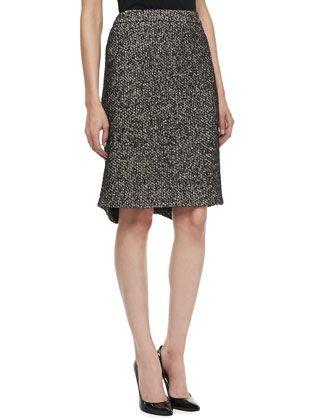 Tweed Pencil Skirt by Zac Posen at Neiman Marcus Last Call.