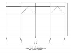 Milk Carton | Template, Gift box templates and Box templates