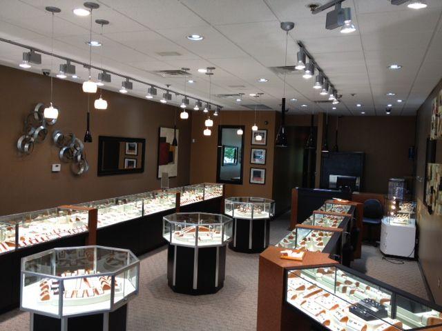 Interior design for harris jewelry store harris jewelry for Jewellery interior designs