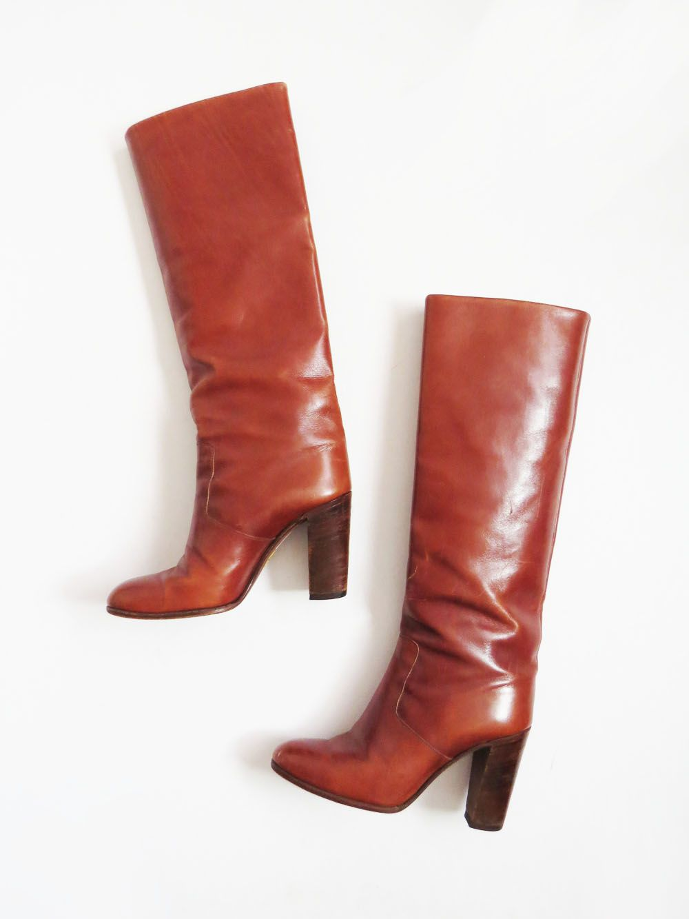 8a89db17113b 1970's Knee High Boots // SIZE 7 Vintage Italian Boots // #BarnabyJack Ugg