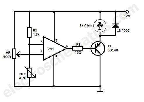 This circuit can cool your heat generating electronic