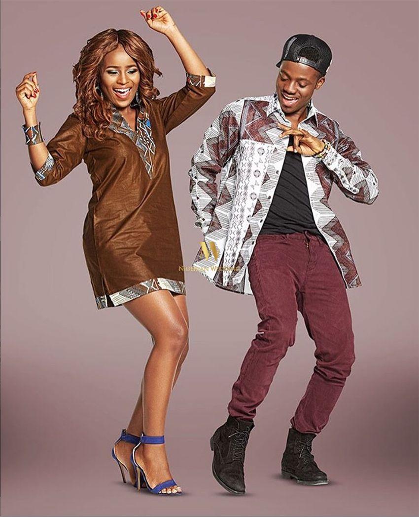 nigerian-wedding-ankara-latest-best-fashion-styles-couple1 | Les ...