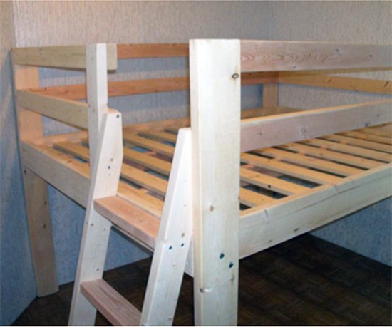 Reader Showcase Diy Full Sized Low Loft Bed The Design