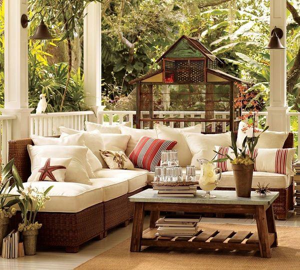 La décoration terrasse extérieur - des idées pour rafraîchir et ...