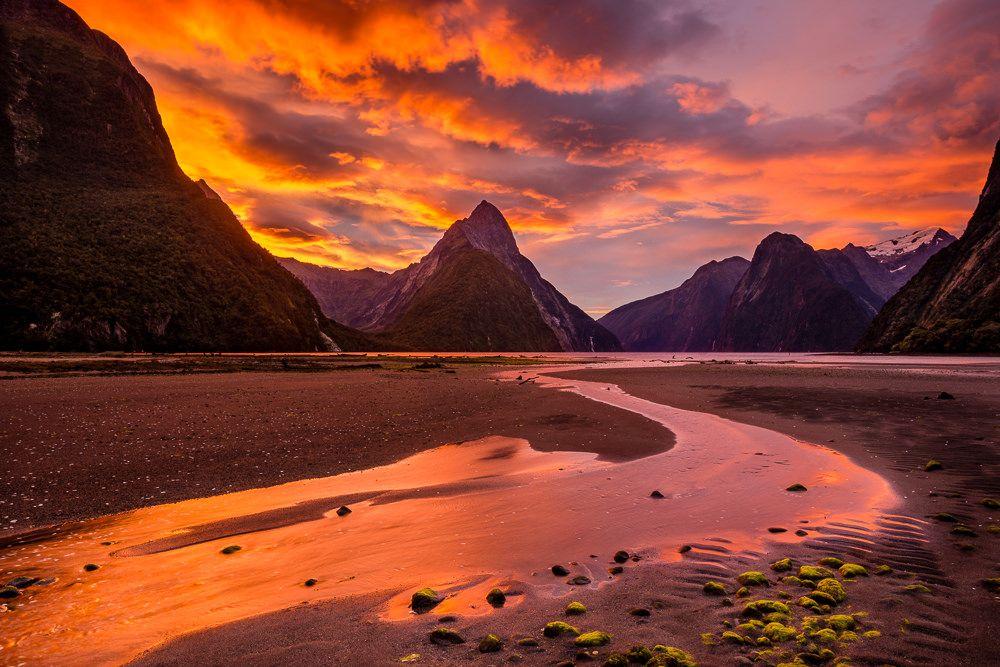 """""""Sound of Milford"""" New Zealand Weather underground"""