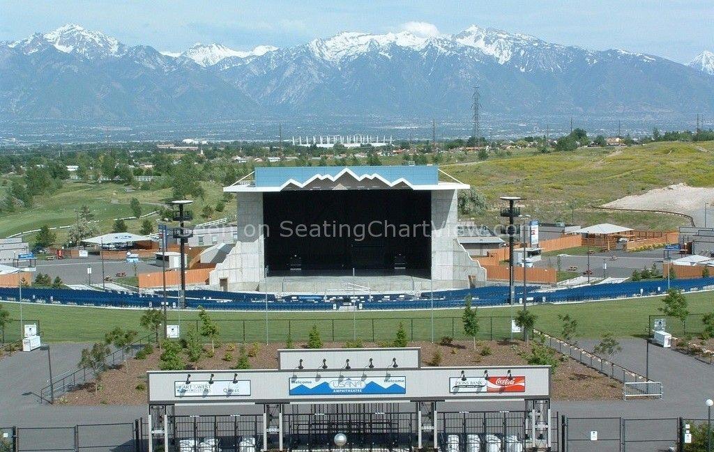 Usana Amphitheatre Salt Lake City Ut Seating Chart View Amphitheater Salt Lake City Ut Seating Charts