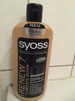 Syoss Renew 7 Serie Shampoo