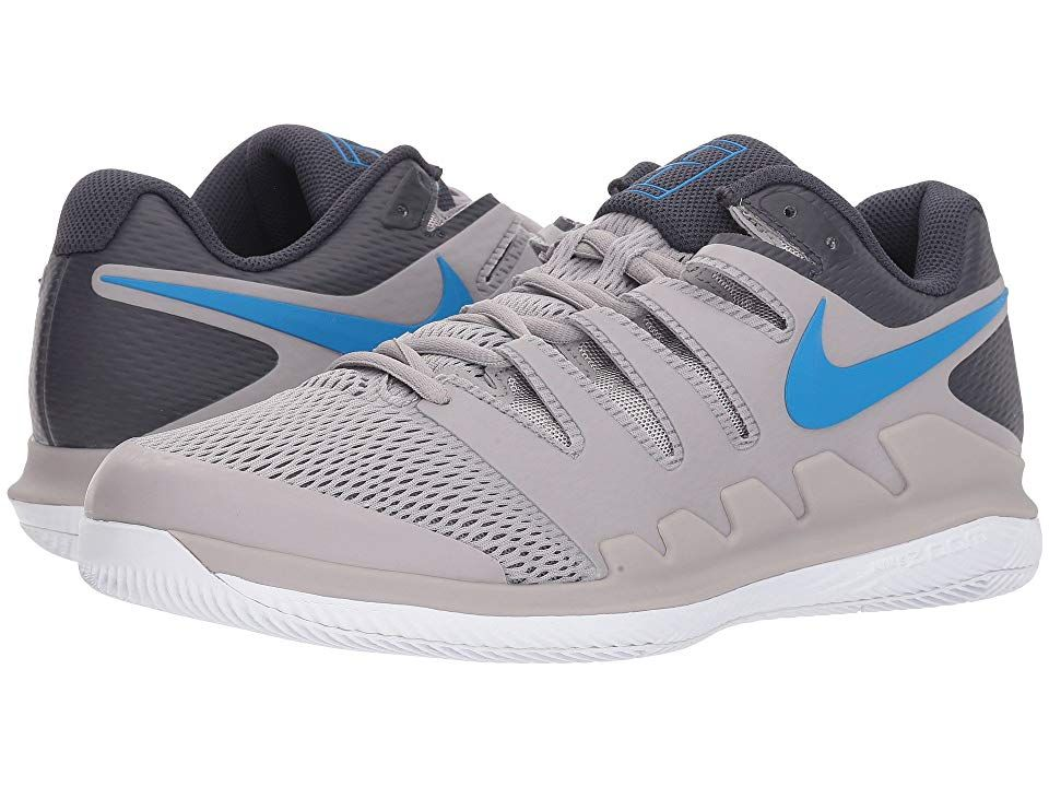 Nike Air Zoom Vapor X Atmosphere Grey Photo Blue White Men S Tennis Shoes Bring Speed And Agility To The Match With The Nike Air Zoom Nike Mens Tennis Shoes