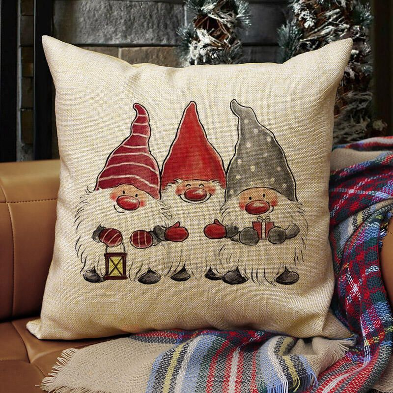 Christmas Gnomes Pillowcase without Pillow - Bellelily #christmasgnomes