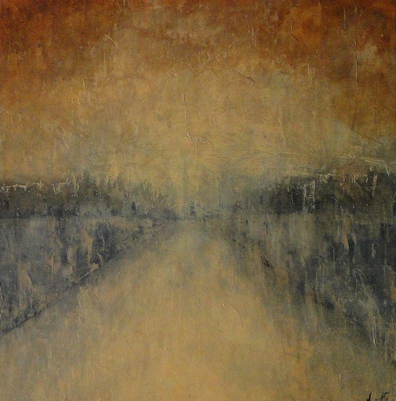 """Hudson"" - Vanessa Grant 153 cm x 153 cm"