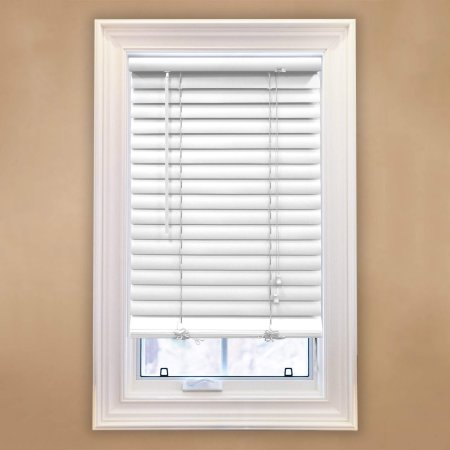 Richfield Studios 2 Inch Room Darkening Blinds White Faux Wood