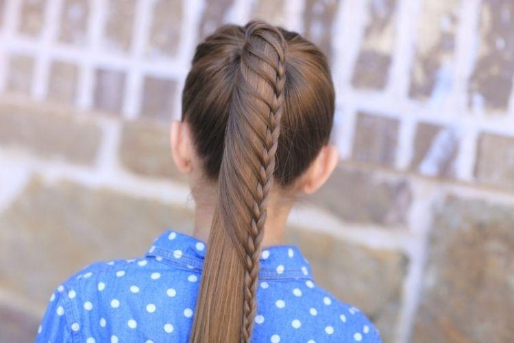 12++ Coiffure fille cheveux mi long le dernier