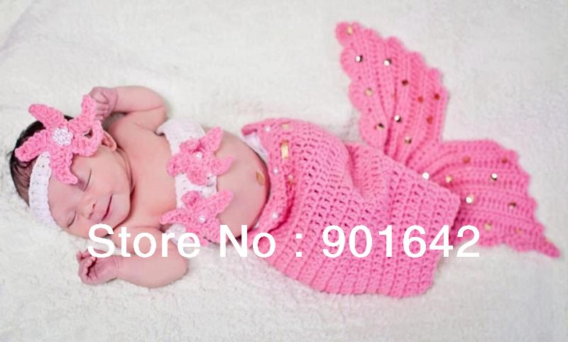 Free Crochet Mermaid Cocoon Pattern | BABY-Crochet-Mermaid-Cocoon ...