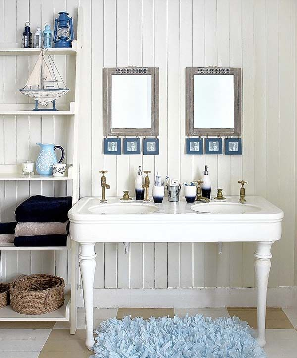 Bathroom Ideas Beach beach style bathroom. beachy coastal bathroom style via house of